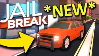 BUYING FIRST EVER SUV IN JAILBREAK | ROBLOX | JOIN MY VIP SERVER!