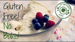 Gluten-free No-bake Key Lime Pie! St. Patty's Day⎜hannahashton