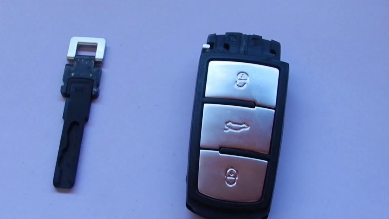 schlüssel batterie wechseln vw