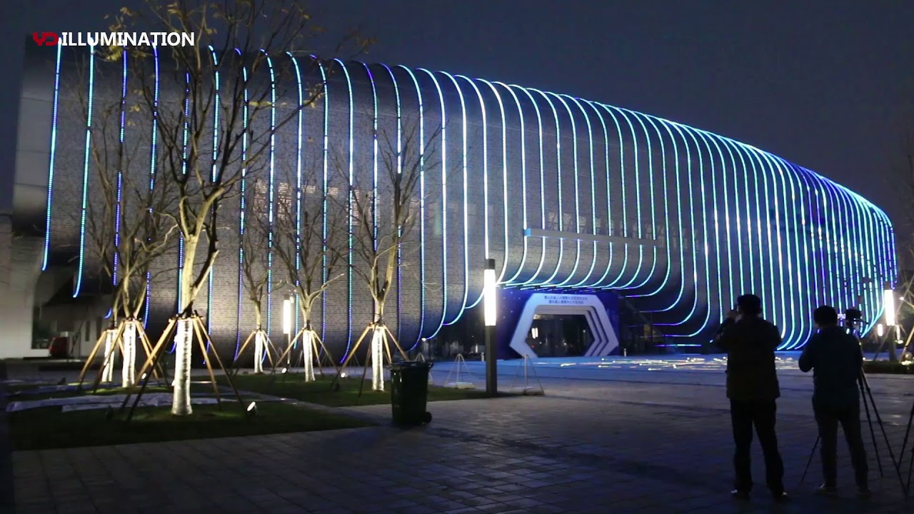 Ip68 Led Dot Pixel Light For Robot Museum Exterior Facade