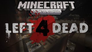 Minecraft Xbox: LEFT 4 DEAD No Mercy - Survival Map (w/ Download)