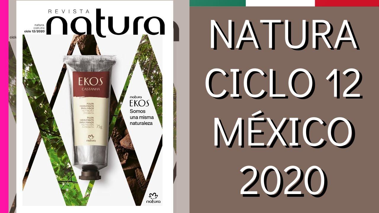 CATÁLOGO NATURA CICLO 12 - MÉXICO 2020