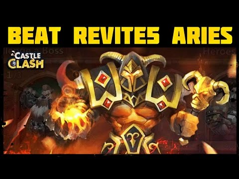 Castle Clash: How To Beat Revitalize 5 Aries - Battle Altar PVP