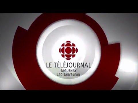 Radio-Canada - Générique TJ Saguenay-Lac-St Jean - 2015