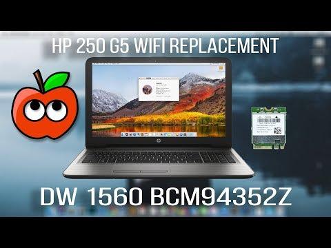 HP 250 G5 - DW1560 Broadcom BCM94352Z WiFi for Hackintosh
