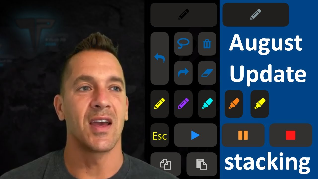 Tablet Pro August update - button stacking, macros, multiple location clicks, color states, dual