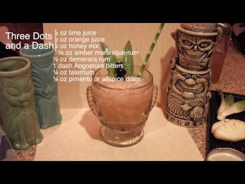 How To Make Tiki Drinks: Three Dots And A Dash