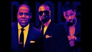 Kanye West ft. Jay-Z, Big Sean - Clique Slowed by DJ Big Seg