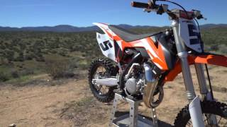 2016 KTM 85 SX Review - Dirt Rider 85cc MX Shootout