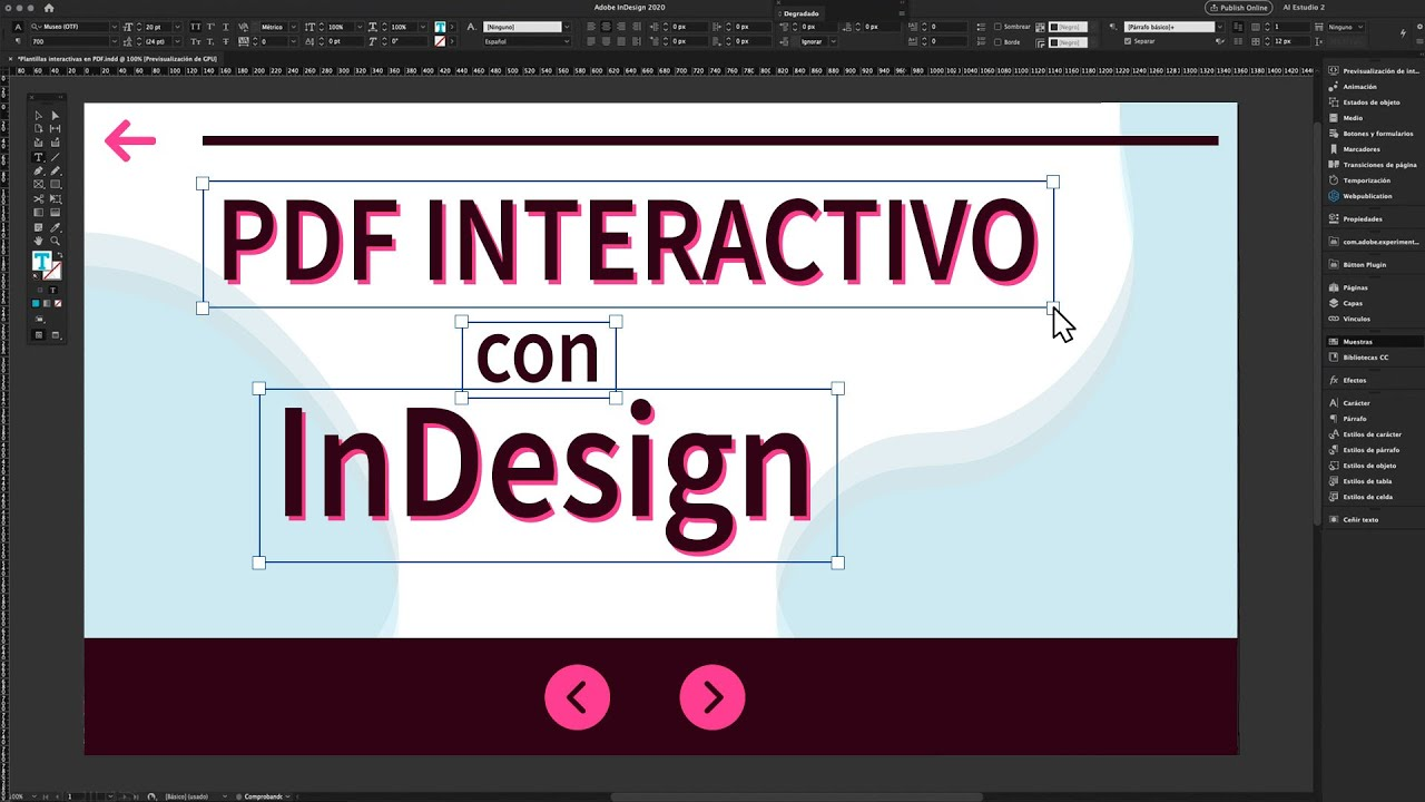 Pdf Interactivo Indesign Masterclass Con Alberto Solís Youtube