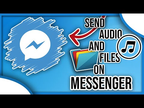 *NEW* Send Audio AND Files On MESSENGER! *2020* ✔️