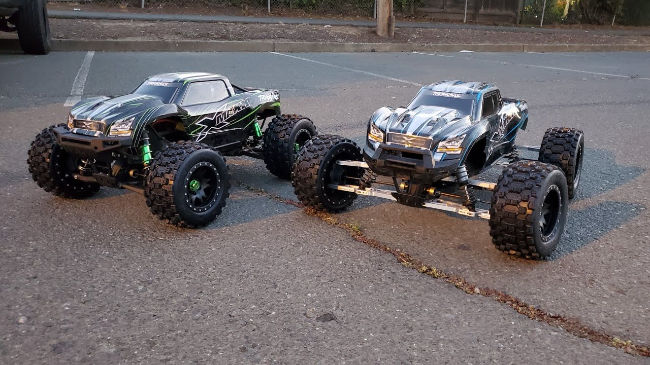 WFO wide arm kit for the x-maxx - prototype truck