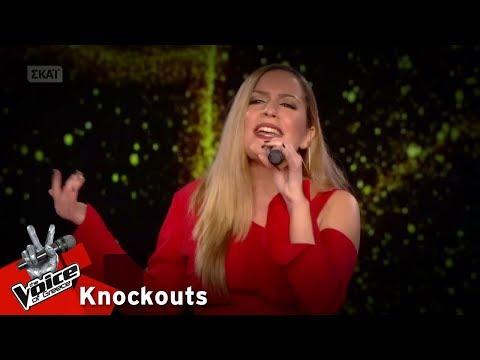 Εβίτα Λάρκου - Girl on fire | 2o Knockout | The Voice of Greece
