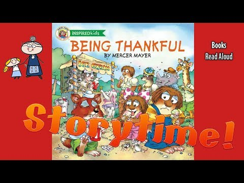 LITTLE CRITTER  BEING THANKFUL Read Aloud ~ Bedtime Story Read Along Books  ~  Kids Books Read Aloud