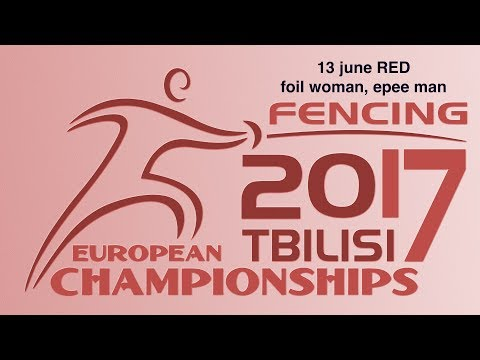 #European Champioships Tbilisi Woman Foil/Man Epee individual RED piste