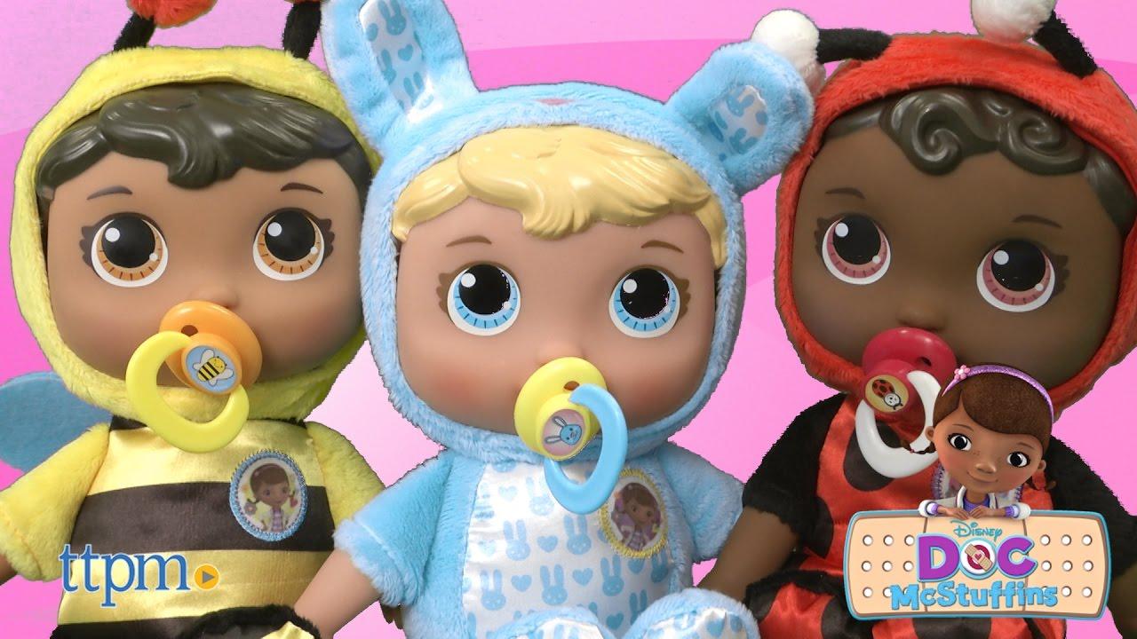 Doc Mcstuffins Baby Lil Nursery Pals Ladybug Bumble Bee