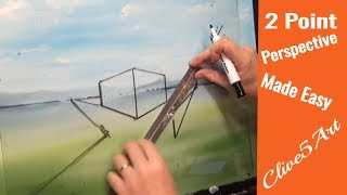 Perspective 1 n 1 | podcast | Acrylic painting for beginners, #clive5art(In this podcast I have a little fun with the notes I made several years ago and try and show how to make a difficult subject fun to learn while using old video ..., 2016-03-10T17:30:00.000Z)