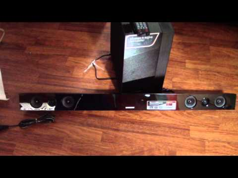 Unboxing Samsung sound bar HW-F450 2.1 Channel 280 Watt Soundbar speaker wireless sound f450 450