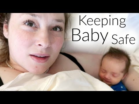 Keeping Our Baby Safe - Vlogmas Day 8