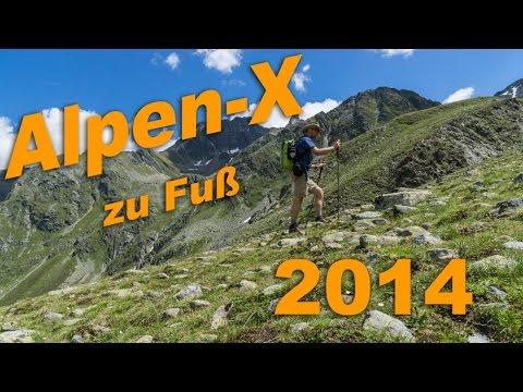 Off E5 - Alpenüberquerung zu Fuß