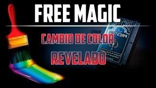 PAINT BRUSH I Aprende trucos de magia gratis - Cambio de color revelado [Dynamo] + Sorteo DVD