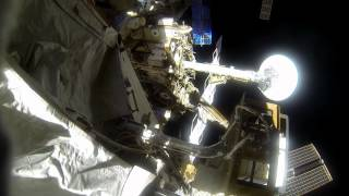Action Cam Footage From U.S. Spacewalk #31