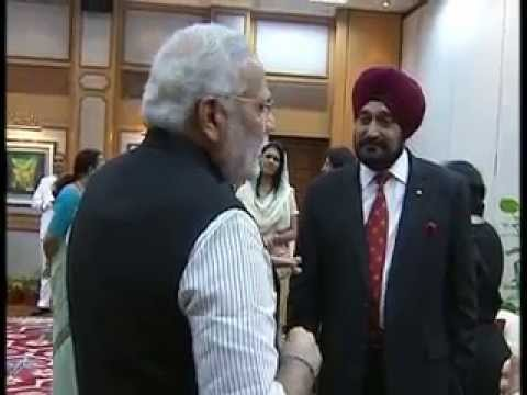 PM hosts farewell dinner in honour of Gen. Bikram Singh