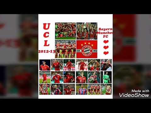 Vị trí các cầu thủ đã khoác áo Bayern Munich Fc team color