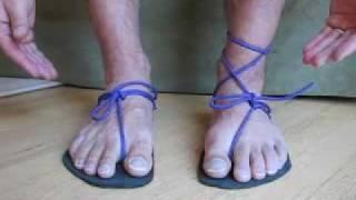 Make huaraches (Tarahumara running sandals) 3/3