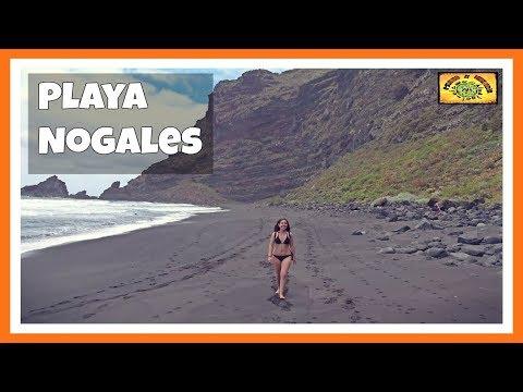 Playa de Nogales: Paraíso en una playa volcánica | La Palma | Islas Canarias 9# | España | Spain