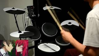 High School DxD Hero OP -【SWITCH】by Minami - Drum Cover