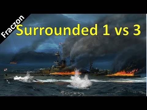 World of Warships - When to avoid combat in a Battleship