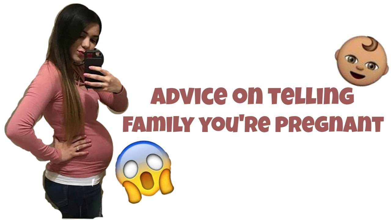 HOW TO TELL YOUR PARENTS YOU'RE PREGNANT - YouTube