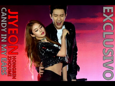 JIYEON, ZHOUMI & HONGBIN - Candy In My Ears [SPECIAL STAGE LEGENDADO PT-BR]