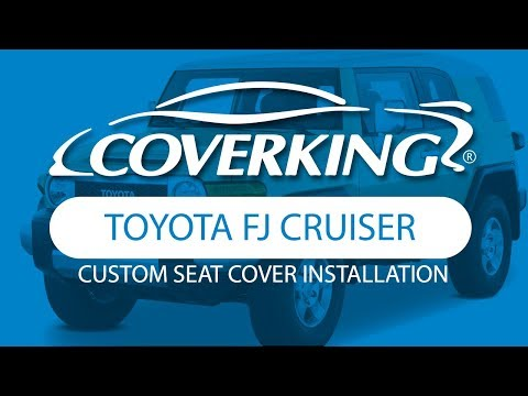 How to Install 2009-2010 Toyota FJ Cruiser Custom Seat Covers | COVERKING®