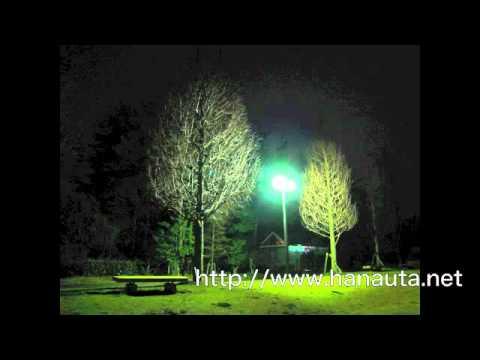 hanauta「月とベンチ」