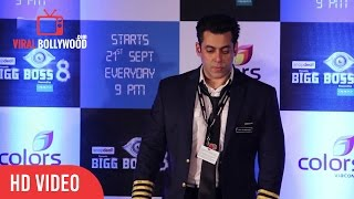 Salman Khan Respects Religion |  Total Silence at bigg Boss 8 Press Meet  | Viralbollywood