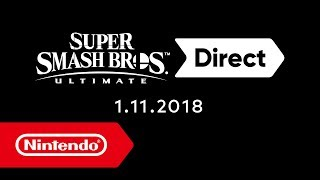 Super Smash Bros. Ultimate-Direct – 1.11.2018