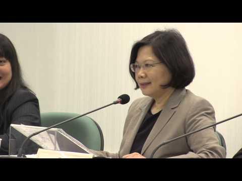 蔡英文 Tsai Ing-wen English Press Q&A 台獨 太陽花學運 民進黨