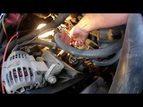 How to change Engine Coolant Temperature Sensor on Silverado 2004