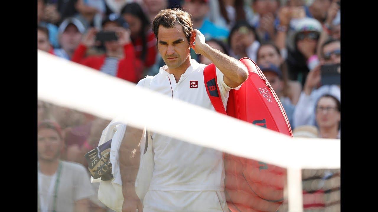 Kevin Anderson stuns Federer in Wimbledon quarter-final cliffhanger