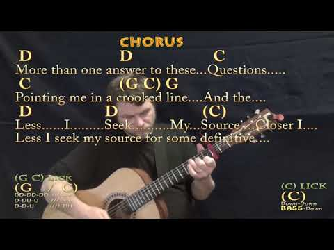 Closer To Fine Indigo Girls Guitar Lesson Chord Chart With Chords