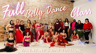 Full Valentine's Day Belly Dance Class