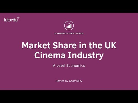 Market share and competition in the UK cinema market