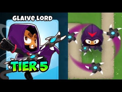 Bloons TD 6 - GLAIVE LORD - 5TH TIER BOOMERANG