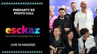 Download Video ESCKAZ in Madrid: PreParty ES Photo Call MP3 3GP MP4