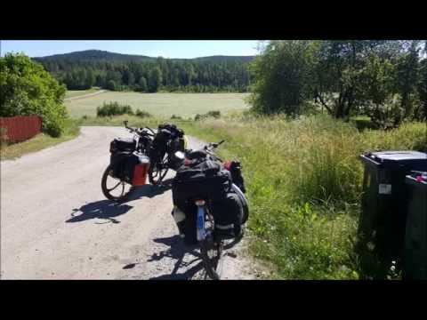 Estonia-Sweden-Finland-Estonia Bicycle Touring 2016 16 days 1450 km