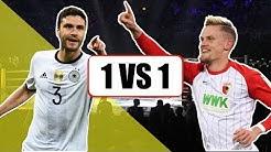 JONAS HECTOR VS PHILIPP MAX - 1 GEGEN 1 FUSSBALL │ FOLGE 8