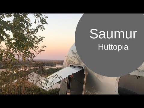 Huttopia Saumur And A STUNNING Drive Through Rural France [CC]