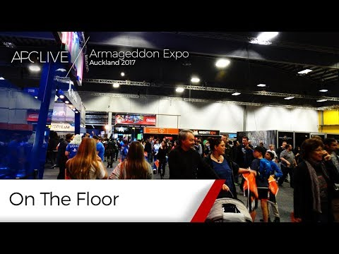 Armageddon Expo 2017: Auckland - On The Floor [#APGLive]